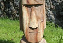 rzeźba drewno