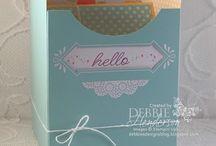 Pretty Pocket Card Kit Alternative Ideas