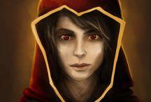 Sorcery World - Characters / Digital painting at www.sorceryworld.com