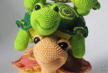 želvy žáby šneci myši
