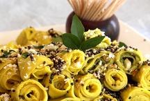 Food / I love food, mainly vegetarian food esp Gujarati food and street food from my travels.