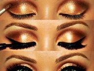 Green eyes / Beauty and make-up