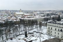 Vilnius seasons / Vilnius city during the Spring, Summer, Autumn, Winter and Spring... / by Julius Narkūnas