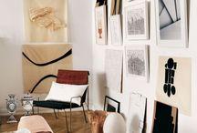 Art in Interiors / By Corey Hemingway