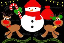 Christmas digital clipart