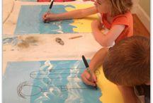 kids art masterclass  / by Kirstin Rigby