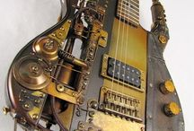 steam punk guiter