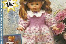 tricot poupées
