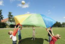 Parachute / Jeux