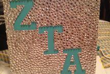 Zeta tau alpha crafts / by Paige Peterson