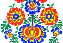 moravské ornamenty