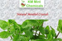 natural menthol crystals / KM Chemical is one of the popular natural menthol crystals manufacturers, suppliers and exporters of India. It is widely used in various aromatherapies because of its sweet fragrance. We are committed to offering superior quality products to our clients in the worldwide market.