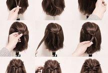 Penteados para fazer sozinha