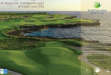 LINKS Magazine for PUNTACANA Resort & Club, Dominican Republic. / Two Page Spread