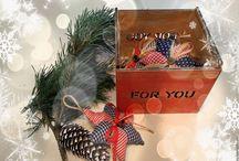Новогодние украшения / праздничный декор