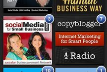 Social Media Podcasts / A collection of my favourite podcasts on social media and blogging