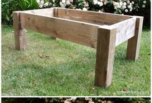 Wooden and rustic table ideas / Ideas for DIY wooden and rustic tables.