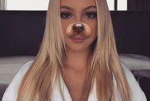 fotos com efeitos dos Snapchat