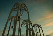 Archways / Thinking about ideas for the archway for NOPE