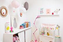 Bedroom Benthe / roze, wit, geruit... en een tikkeltje stoer