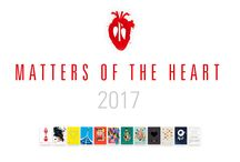MATTERS OF THE HEART 2017 / everybody knows these intense moments that make our hearts beat faster: When a child is born, when music gives us goose bumps or when we are surprised – totally unexpected. These very moments are expressed in the »MATTERS OF THE HEART« calendar pages.