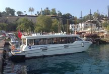 Cтарый порт в Калеичи // Antalya -Kaleiçi - Old Marina / Яхт-туры, гулет, морские путешествия//Yacht tours,Gulets, sea cruise