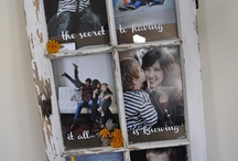Picture frames / by Melanie Wolfe