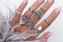 Jewellery / Silver jewellery, skull, cats, animals, gothic, metal, black