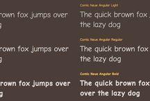 fonts / by LightRoom