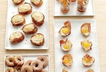 Breakfast Hors d'oeuvres / by Lisa Morris