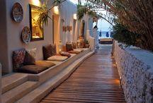 Adobe homes and interiors