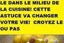 bienfait du citron