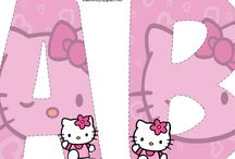 Alfabeto da hello kitty