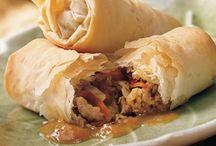 Ethnic Fillo Recipes / A world culinary tour -- all wrapped in crispy fillo dough.