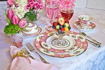 Idee per la tavola: il brunch/ Tablescape ideas: the brunch / Decorazione della tavola per il brunch/ How to decor your festive brunch