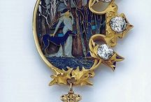 art nouveau  / anything from illustrations to pieces of jewelry