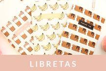 Libretas - Papelería Fitness
