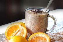 Chia seed puddings