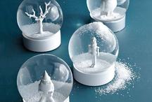 Snow globes...