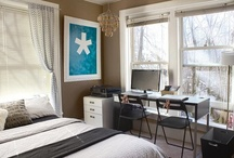 Office/guest room ideas / by TurquoiseDreaming@Etsy.com Sheree Brown