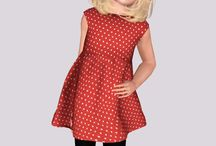 cut out heart dress child