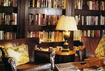 Nicolas - Library / As with all his collections, Nicolas prides himself with his library of first editions and rare books. Classic literature and historical non-fiction fill his shelves. Feel free to add any books you think might be found nestled among his leather-bound tomes.