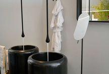 Goccia by Gessi / Monomando de lavabo a pared colección Goccia de la prestigiosa firma italiana  Gessi.