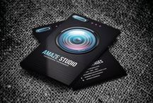 BEST PHOTOGRAPHER BUSINESS CARDS EXAMPLE / Most Creative Business card Collection For Photographer