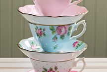 Ideas for the House / Tea cups and saucers