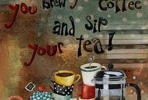 kopjes koffie thee