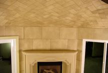 Weathered Stone Wallcovering Installs / What can a wallcovering look like when you think outside of the box? See some of our Weathered Stone Wallcovering installs in wine cellars, entries and family rooms: https://www.facebook.com/baughmanwallcovering https://plus.google.com/+BaughmanWallcoveringOceanside/posts / by Baughman Wallcovering