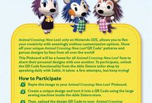 Animal Crossing: New Leaf / Show off your custom QR code creations on our Pinterest page! You can also browse designs by players from across the world and gain access to designs created by Nintendo! http://pinterest.com/nintendo/
