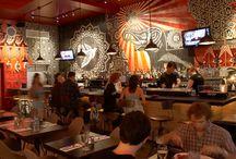 Restaurant Interiors Ideas