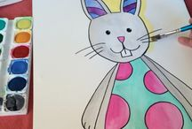 Easter / Art resources and ideas for Easter.